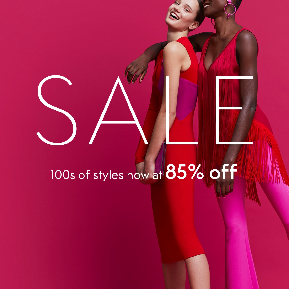 MORE STYLES AT 85% OFF